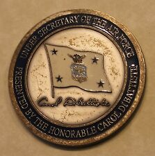 Under Secretary of the Air Force Carol DiBattiste Air Force Challenge Coin