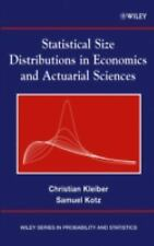 Wiley Series in Probability and Statistics: Statistical Size Distributions in...