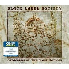 BLACK LABEL SOCIETY Catacombs Of The Black Vatican CD + 2 BOX w/T-Shirt BEST BUY
