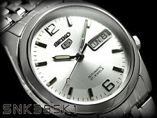 Seiko 5 Men's SNK385K1 Stainless Steel Automatic Automatic  Day Date Watch