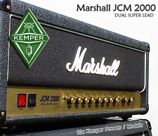 Kemper Profiles - Marshall JCM 2000 - Dual Super Lead / Profile Patch Amp Model