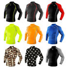 Takefive_Men's Compression Long sleeve_Baseball_Running_Sportswear_Rash guard