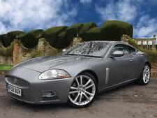 Jaguar XKR 4.2 SUPERCHARGED Coupe Auto in Grey with Black