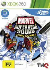 Marvel Super Hero Squad Comic Combat (uDraw)  - Xbox 360 game - BRAND NEW