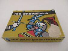 Jeu ancien LES CHEVALIERS LES JEUX GAIS LOISIRS EDITIONS MIRO COMPANY 1967 RARE