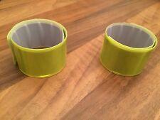 4 Stk. Reflektorband Snap Reflektorarmband Leuchtband Reflektor Reflektorbänder
