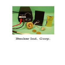 24kt Gold/Chrome/silver/Rhodium/black chrome/copper/Nickel Plating Kit,