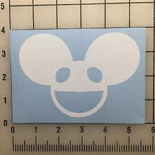 "Deadmau5 5"" Wide White Vinyl Decal Sticker - BOGO"