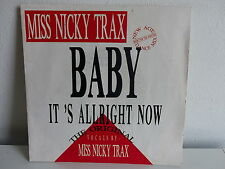 MISS NICKY TRAX Baby it's allright now OTB 1399 7