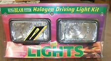 Rally Ultra Beam System White Halogen Driving Light Kit 4x4 Fog Vintage HID NOS