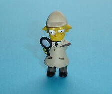 FIGURINE DE COLLECTION LES SIMPSON LISA SIMPSON DETECTIVE 5,5 cm NEUVE