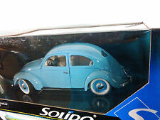 SOLIDO SPLIT WINDOW BABY BLUE VW BETTLE BUG 1:18 SCALE NEW IN THE BOX