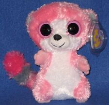 "TY BUBBLEGUM the 6"" LEMUR BOOS - BEANIE BOO'S - MINT with MINT TAGS"