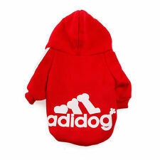 Casual Adidog Pet Dog Clothes Warm Hoodie Coat Jacket Apparel For Dog Clothing