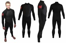 ALL SIZES Full winter steamer 4/3 surf backzip wetsuit GBS hot melt taped seams