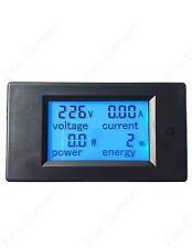 AC Multifunction Meter Voltage 80-260V Current 0-50A Energy Power 110V 220V TH