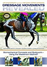 Dressage Movements Revealed - Jim Masterson with Susan Harris, ... NEW DVD