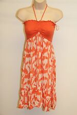New Raviya Swimsuit Bikini Cover Up Dress Coral Size M Bandeau
