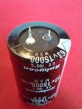 1 PC 15,000 15000UF 63V Electrolytic Capacitor 105 degrees USA FREE SHIPPING