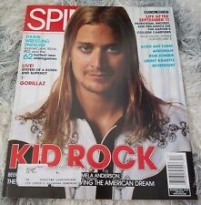 SPIN magazine December 2001 Kid Rock Gorillaz Slipknot Rob Zombie Sevendust