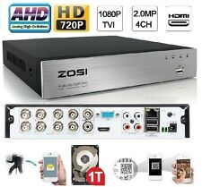 Sunvision 8Ch AHD CCTV Hybrid 720P Network DVR for IP/AHD/Analog Camera 1TB HDD
