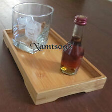 Bamboo Serving Tank Top Tray/Tea Coffee Alcoholic Drinking Candle Hand Towel