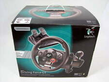 LOGITECH DRIVING FORCE GT 941-000020 RACING STEERING WHEEL GAMING for PS2/PS3