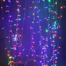 3Mx3M 300LED Outdoor christmas xmas String Fairy Wedding Curtain Light 220V/110V