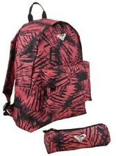 Roxy Backpack and Pencil Case girls Womens Ladies School Bag - New
