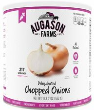 Augason Farms Dehydrated Chopped Onions Emergency Food Storage Survival Prepper