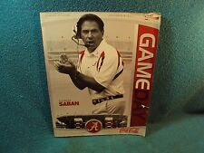Alabama Tulane Football Game Program with Rashad Johnson Poster Nick Saban Cover