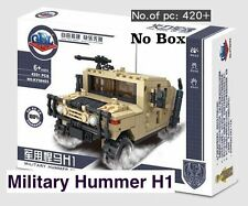 Tan Desert Camo Military H1 Hummer custom build toy transport Vehicle U.S. Jeep