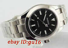 Parnis 40mm Stainless steel sapphire glass Automatic mens Date Day watch 1432