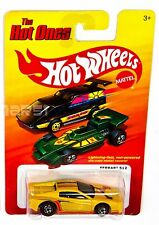 Hot Wheels 2011 The Hot Ones Ferrari 512 in Yellow Redline Chase