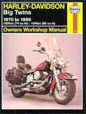 Haynes Automotive Repair Manual: Haynes Harley-Davidson Big Twins : 1970 Thru...