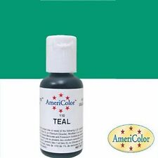 Americolor Soft Gel Paste Teal .75 oz Frosting Fondant Food Color