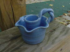"""Studio Arts/Bybee Pottery Handmade Candle Holder Marked """"D B"""" #1"""