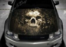 Expendable Skull Full Color Graphics Adhesive Vinyl Sticker Fit Car Bonnet #208