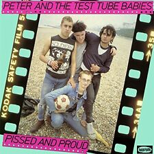 Peter And The Test Tube Babies ‎– Pissed And Proud Pink Vinyl Drastic Plastic