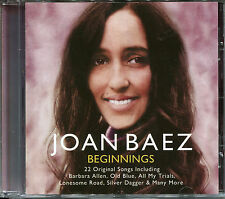 JOAN BAEZ BEGINNINGS CD - BANKS OF THE OHIO, ALL MY TRIALS & MORE