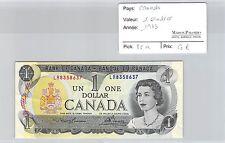 BILLET CANADA - 1 DOLLAR 1973