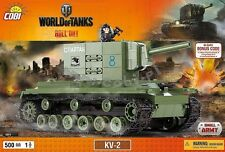blocks Cobi Toys KV - 2 Tank 3004 World of Tanks panzer Small Army bricks