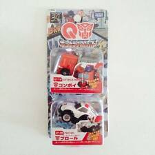 TAKARA TOMY TOMICA Choro Q Transformers G1 Optimus Prime & Prowl - Hot Pick