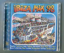 2 cds sampler IBIZA MIX 98 energy 52 GAIYA sash! VENGABOYS eddie amador MOUSSE T