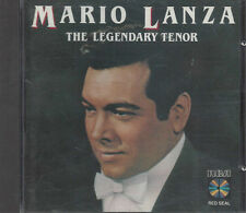 CD ♫ Compact disc **MARIO LANZA ♦ THE LEGENDARY TENOR** usato