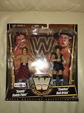 MOC Mattel WWE Elite Legends Flashback Rowdy Roddy Piper Cowboy Bob Orton 2-Pack