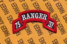 US Army 75th Infantry AIRBORNE RANGER Regiment scroll patch c/e