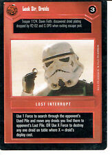 STAR WARS CCG PREMIERE BLACK BORDER RARE LOOK SIR, DROIDS