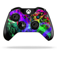 Skin Decal Wrap for Microsoft Xbox One/ One S Controller sticker Neon Splatter