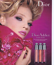 PUBLICITE ADVERTISING 064 2010 DIOR Addict Ultra Gloss